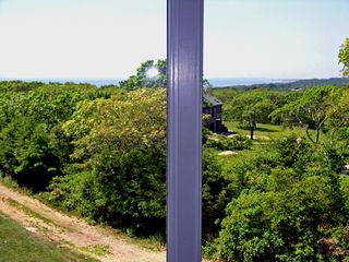 Chilmark house photo - enjoy the sweeping south shore waterviews from the MBR