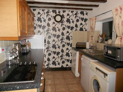 Colwyn Bay cottage rental - River Kitchen