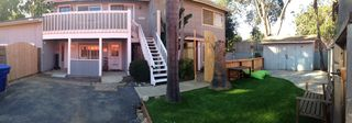 Encinitas apartment photo - Panoramic view of the property. The condo is up the white staircase.