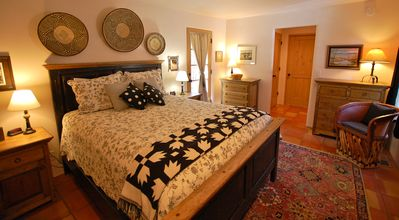 Santa Fe house rental - Lovely Master Bedroom with Queen bed and its own Bath