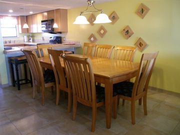 Dining Room w/10 chairs and barstools