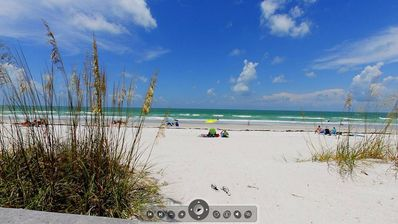 Indian Rocks Beach condo rental - You practically have the beach all to yourself!