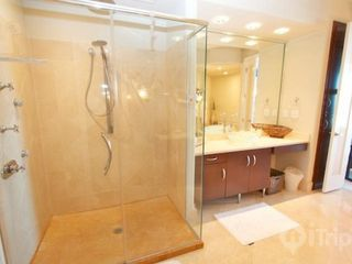 Orange Beach condo photo - Large walk in shower in master bathroom