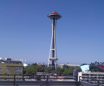 Rooftop View of Space Needle