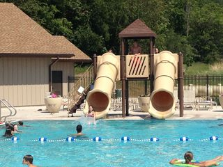 Galena house photo - Two new out door pools with water slides