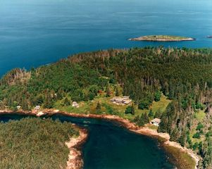 Port Clyde house photo - Aerial view of McGee and Barter Islands