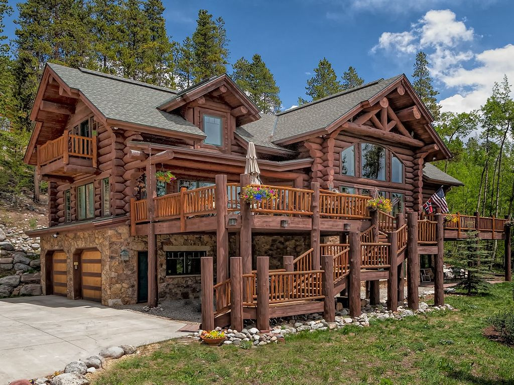 Indiana Creek Private Scandinavian Log Home Vrbo