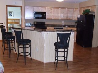Newly remodeld kitchen ... all new appliances, granite, and island