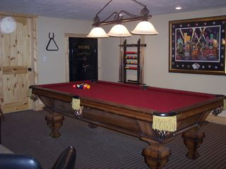 Island Park cabin photo - Pool Table Room (Downstairs)