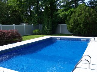 Westhampton house photo - Heated pool