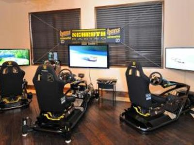 Optional SimRoom Racing Fun! Add this event to your stay. Call for details.