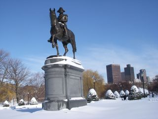 Boston condo photo - Boston Public Garden, the first American park, steps from our front door.