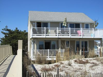 View of house from Sand Dune Walkway