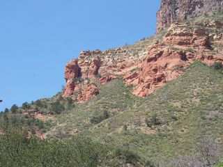 Sedona cottage photo - More views from the back road.