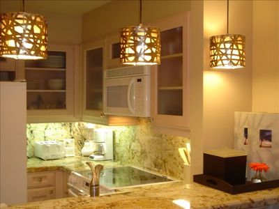 fully equipped granite kitchen