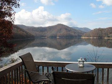 Lake Nantahala house rental - View from Deck