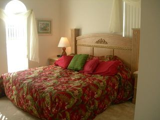 Haines City house photo - 2nd Master Bedroom With King Size Bed and Bathroom picture below