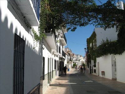Stroll down Calle Carabeo five minutes to town center and Balcon de Europa.