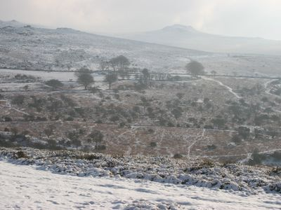 Dartmoor is beautiful in winter