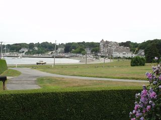 Jamestown (Conanicut Island) house photo - Front porch view of east ferry/village