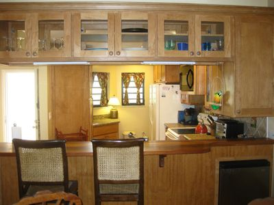 Kitchen- renovated along with rest of condo in 2007.