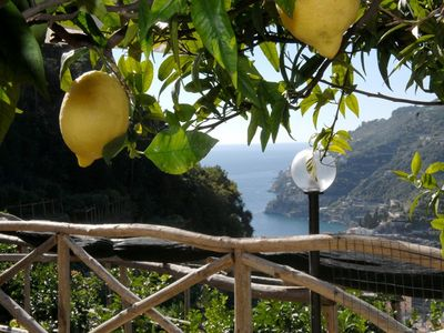 NATURAL HOLIDAY IN A FARMHOUSE APARTEMENT  SEA VIEW ON THE AMALFI COAST.