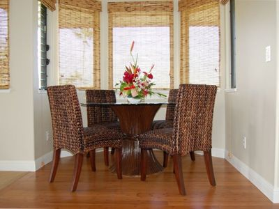 New Dining Room with Bamboo Flooring