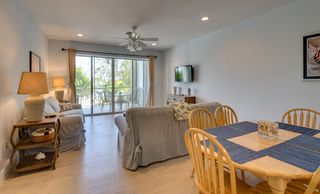 Key Largo townhome photo - Open concept living and dining