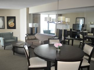 Sunny Isle condo photo - Living and Dining Areas