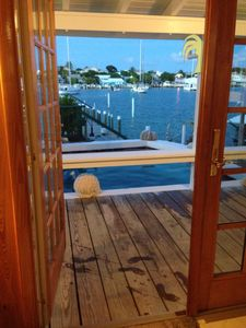 Open Your Front Door To a This Harbour & Pool View