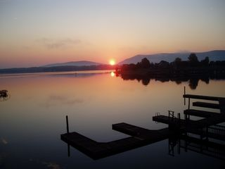 Moneta condo photo - Early Morning View from Boater's Dream