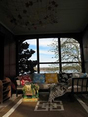 Branford house photo - Nap time on screened inporch