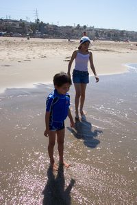 You and your kids will love looking for tumbled sea glass along the sandy shore!