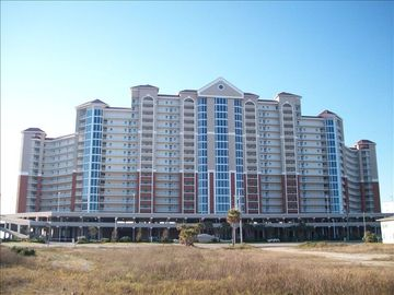 Street view of The Lighthouse Condominium complex