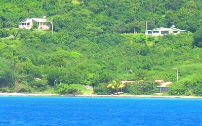 View of Tamarindo Estates Apts. snorkeling beach.