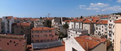 Panoramic view from the terrace while you toast to la bella Nissa!