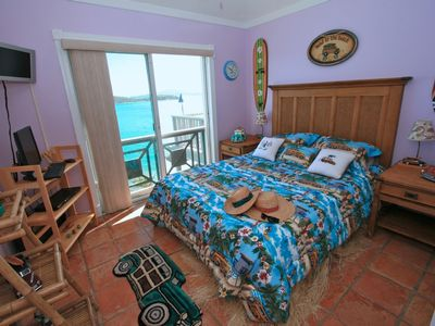 Northside villa rental - Surfin' Safari Bedroom 4 upstairs.