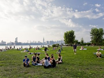 East River State Park-view of Manhattan