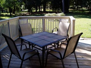 Kingston Plantation villa photo - Backyard Deck