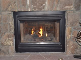 Breckenridge townhome photo - gas fireplace