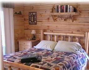 Queen bed-Great Decor - DeSoto cabin vacation rental photo