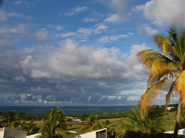 St. Croix villa rental - The view from the upper bedroom is pure Caribbean art.