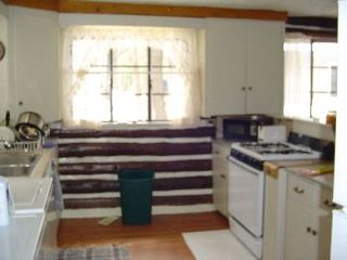 Gaylord cabin photo - equipped kitchen