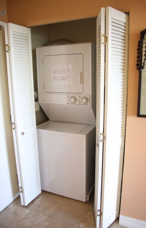 Washer & Dryer inside the room