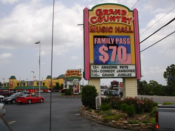 Grand Country Has It All - Buffets, Music Hall, Inside Mini Golf, Arcade, & More