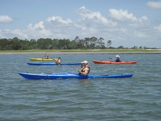 Tybee Island condo photo - Kayaking to Little Tybee.