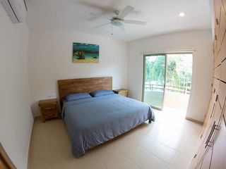 Tulum apartment photo - Master Bedroom (King Size with memory foam mattress)