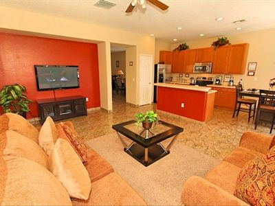 Villas at Somerset villa rental - Family room
