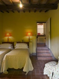 Castiglione d'Orcia farmhouse rental - View from the bedroom