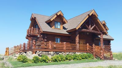 Unique Handcrafted Log Cabin On Island Park Reservoir With Beautiful Views